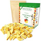 Freeze Dried Mango: Delicious Fruits 2.4oz (68g) Large Bulk Re-Sealable Bag in a Sturdy Protective Box: Taste Like Fresh Mangoes, the Ultimate Snack and Breakfast. Original Green Top Quality