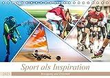 Sport als Inspiration (Tischkalender 2021 DIN A5 quer)