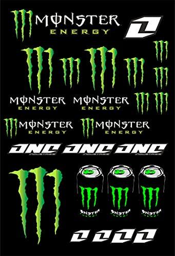 senza marca Kit de pegatinas para moto Monster Sponsor MTB compatibles con KTM...