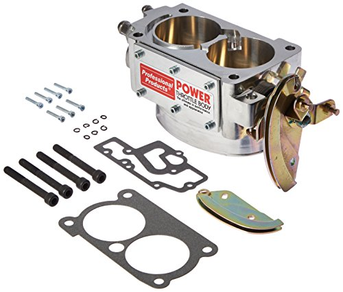 Professional Products (69702) 58mm Polished Throttle Body for Chevy Camaro/Firebird