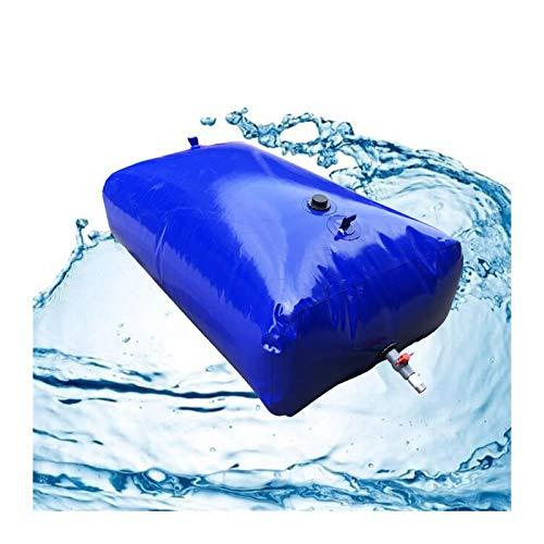 Almacenamiento de agua Contenedor Gran Capacidad Vejiga De Agua De PVC Sin BPA Plegable Al Aire Libre Patio Emergencia Tamaño Personalizado ZLINFE (Size : 330L/1.2x0.8x0.35M)