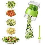 Best Spiralizers - Spiralizer for Vegetables Handheld Spiral Vegetable Cutter 4 Review