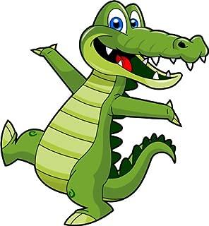 Cartoon Alligator Clip Art - Cute Alligator Mascot Stock Illustration!