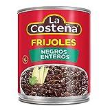 FRIJOLES NEGROS ENTEROS 560gr LA COSTEÑA