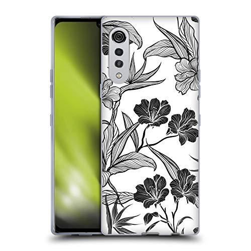 Head Case Designs Licenciado Oficialmente Haroulita Dúo Blanco y Negro 5 Carcasa de Gel de Silicona Compatible con LG Velvet / 5G