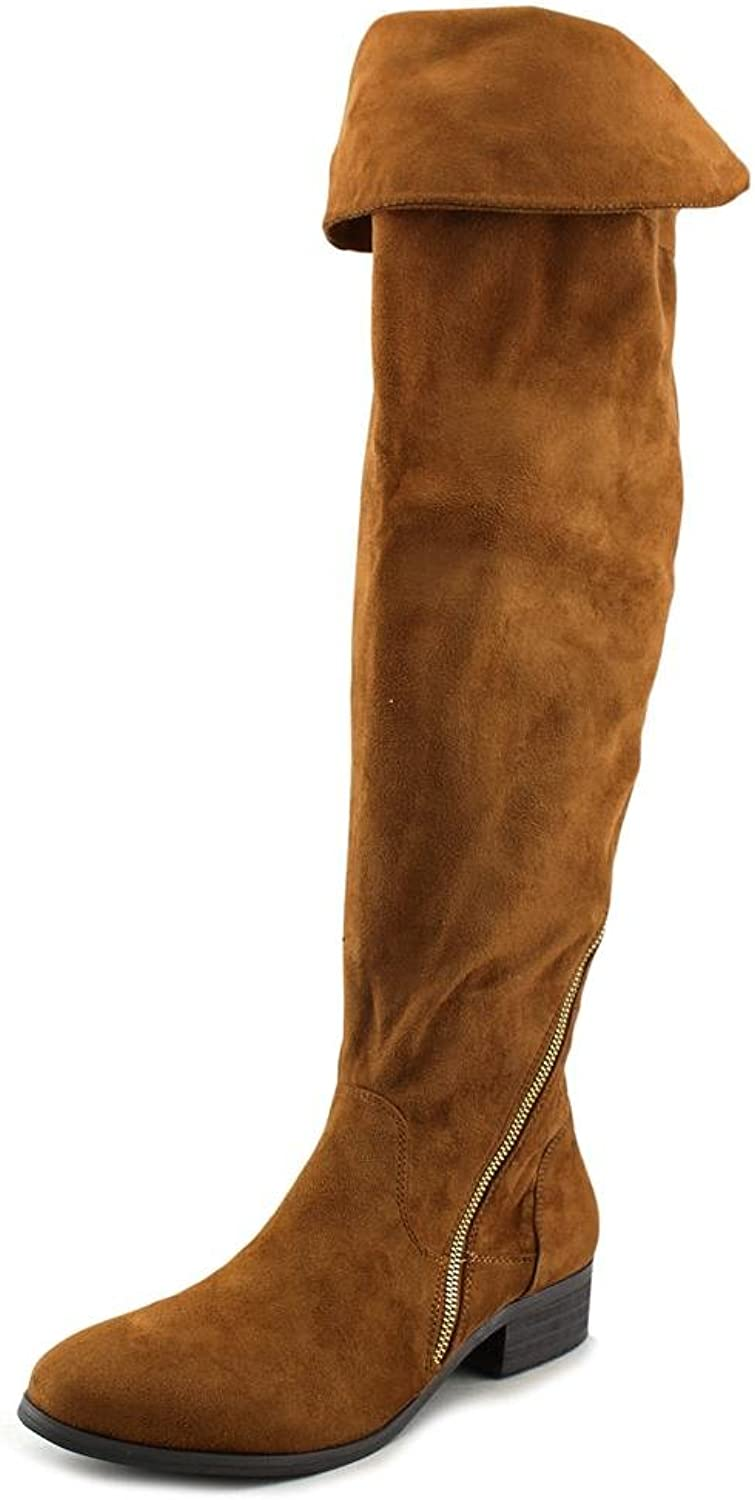 Report Signature Gwyneth Women US 8 Tan Over the Knee Boot