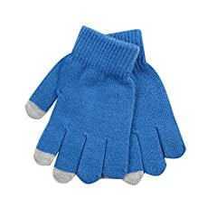 STREET ESSENTIALS Boys Gloves Magic Touch Screen Knitted Warm Wooly Winter