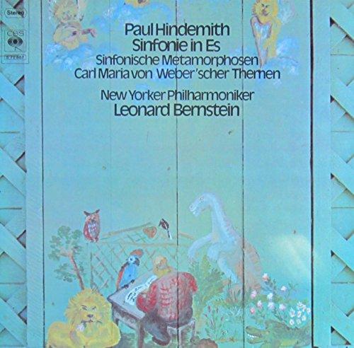 Hindemith: Sinfonie in Es / Sinfonische Metamorphosen Carl Maria von Weber'scher Themen [Vinyl LP] [Schallplatte]