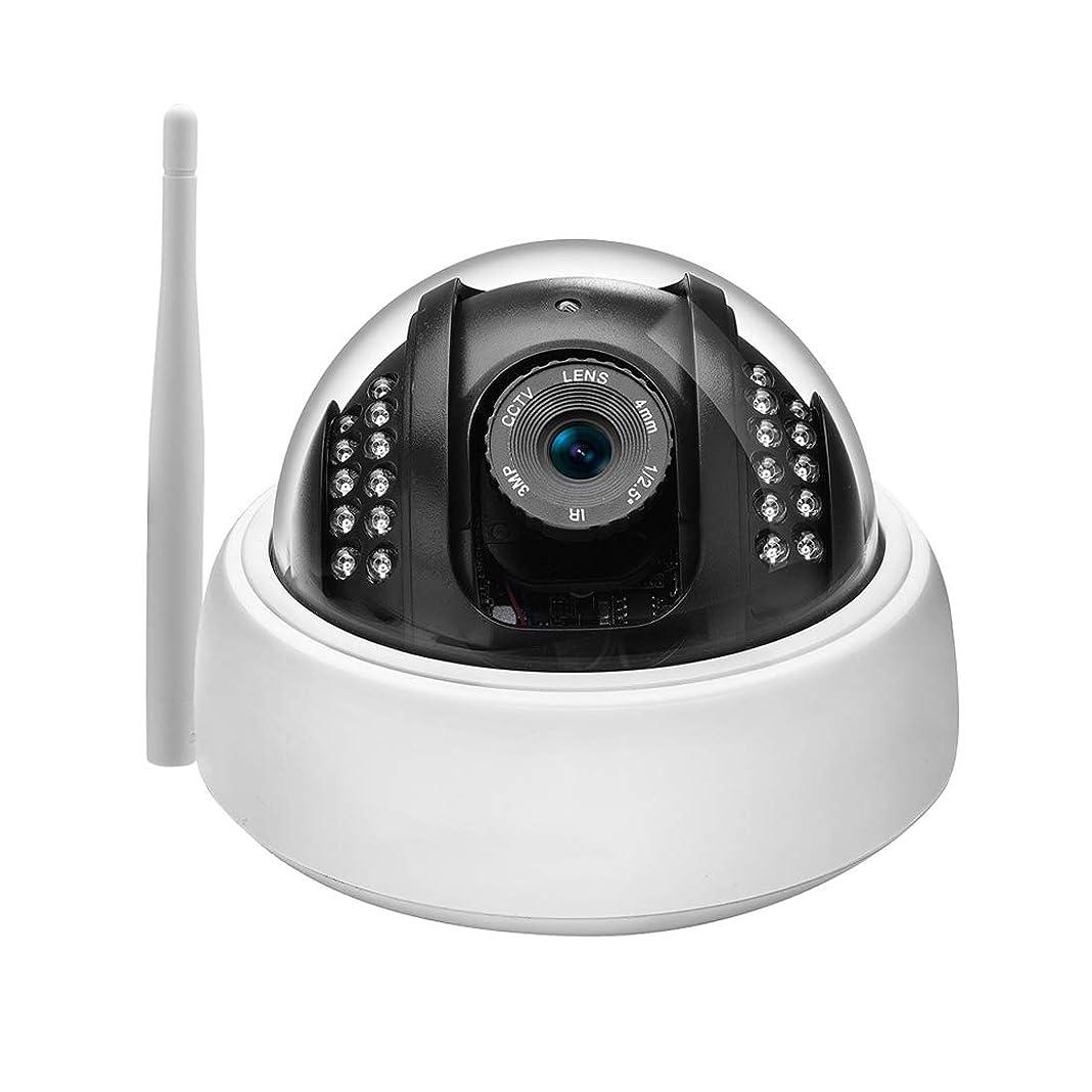 容量インフレーション制限する方朝日スポーツ用品店 1080P 2.0MP HDドームカメラ屋内/屋外監視カメラ、リモートビュー防水OnvifカメラIRナイトビジョンモーション検出
