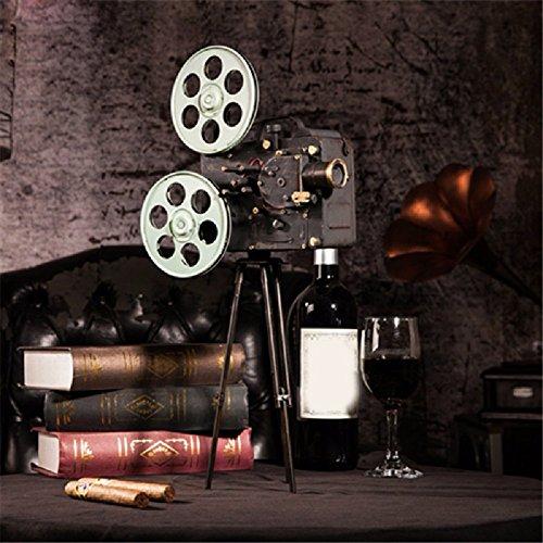 ZPSPZ Inneneinrichtungsgegenstände Vintage - Schmuck Ornamente Filmprojektor Modell Fotografie Requisiten Fenster Geschenk