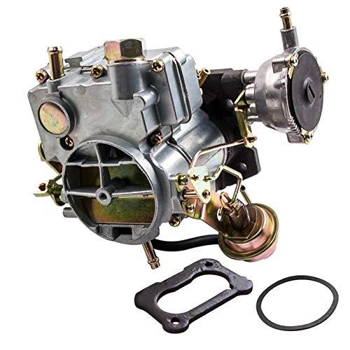 LZZJ Carburador de repuesto de 2 barriles para Chevrolet Chevy 350cu/5.7L 400cu/6.6L 1970-1980 17054616