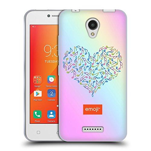 Head Case Designs Oficial Emoji Corazón Patrones Musicales Carcasa de Gel de Silicona Compatible con Lenovo A Plus