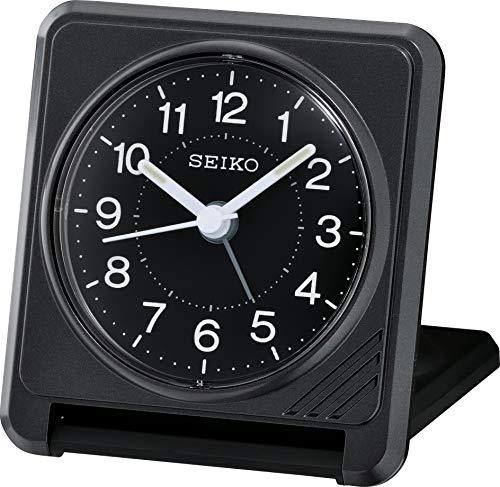 Seiko Reisewecker schwarz Kunststoff QHT015K