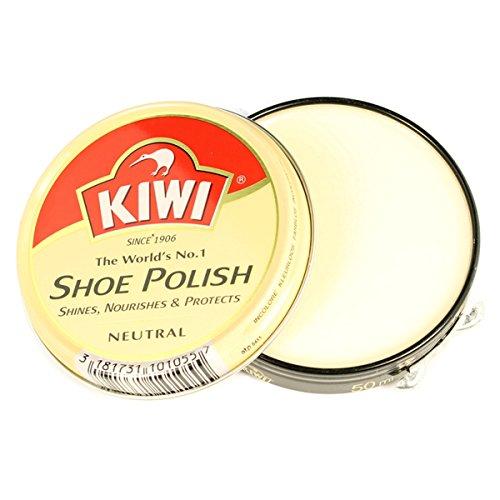 Kiwi Polish 50Ml Tins In All The Colours,Shoe Polish - Neutral