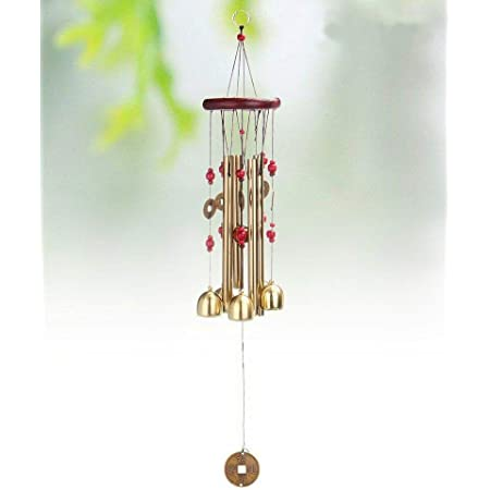 Lilone Brass Wind Chime (24 inch, Multicolour)