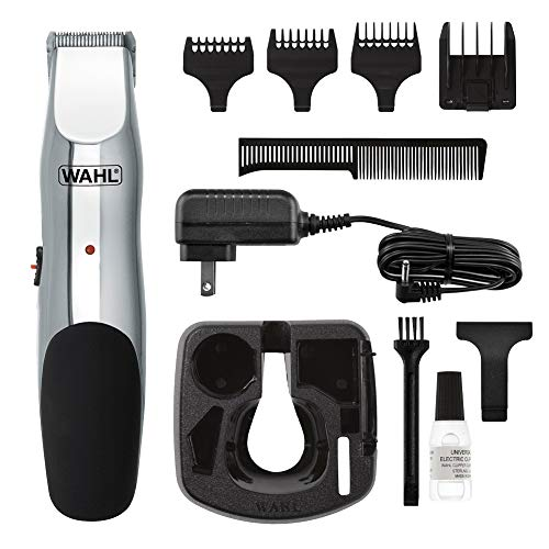 Wahl Clipper Groomsman Trimmer for Men,  for Beard, Mustache, Stubble, Rechargeable men's Grooming Kit, Great Holiday Gift for men by the Brand used by Professionals #9916-817