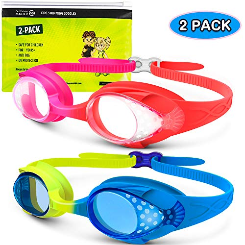 2 pack of Kids swim goggles -$7.79(44% Off with code)