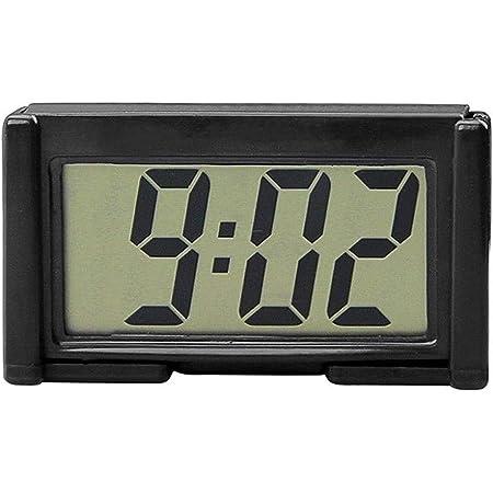 Auto Uhr Onever Auto Digitaluhr Mit Thermometer Mini Fahrzeug Armaturenbrett Uhr Auto Digitaluhr Thermometer Auto