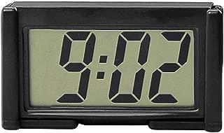 car dashboard clock with backlight