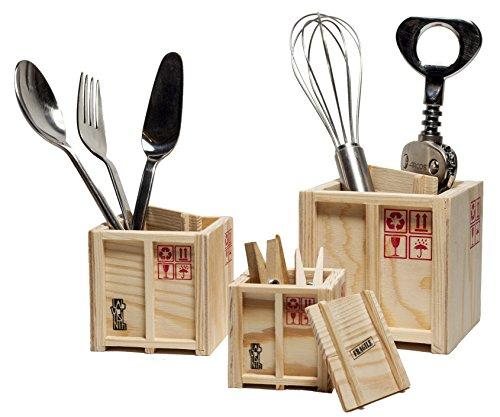 Labyrinth-Design In-Box-Set aus 3 verschachtelten Holz-Schreibtischkisten - Aufbewahrungslösung für Stift und Schreibtisch!(Set of 3)
