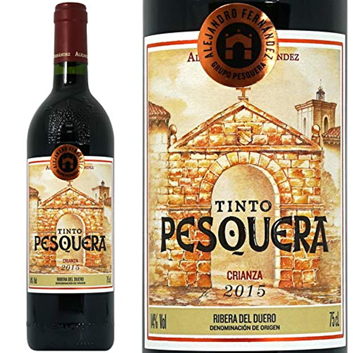 推進力印をつける防止2015 ティント ペスケラ クリアンサ 正規品 赤ワイン フルボディ 750ml アレハンドロ?フェルナンデス