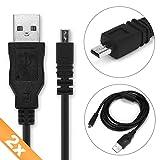 CELLONIC 2X Cable USB dato pour Sony DSC-H300 -H400 -H90 DSC-W830 -W810 -W800 -W730 -W710 -W690 -W630 -W610 -W530 -W320 DSLR-A200...