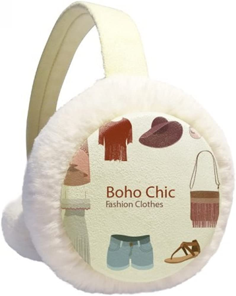 Bohe mia wind cheap shop Fashion Clothes Girl Cable Winter Warmer Knit Ear
