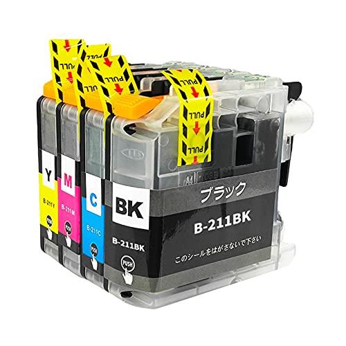 SXCD LC211 Cartuchos de Tinta para Hermano, reemplazo de Alto Rendimiento para DCP-J562N J963N J762N MFC-J880N J737DN J997DN Cartucho de Impresora DWN Compatible BK Y M C Combination x 1