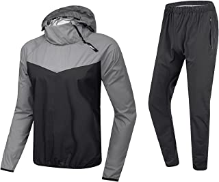 MulYeeh Advanced Weight Loss Sweat Suit Heavy Duty Sauna Suit Fitness Exercise Gym Suit for Men Women