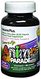 Nature's Plus Animal Parade Source of Life Children's Multivitamin - Natural Assorted Cherry, Orange, and Grape Flavours - 90 Chewable Animal Shaped Tablets - Gluten Free - 45 Servings