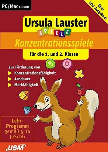 Ursula Lauster: Neue Konzentrationsspiele für die 1 und 2. Klasse
