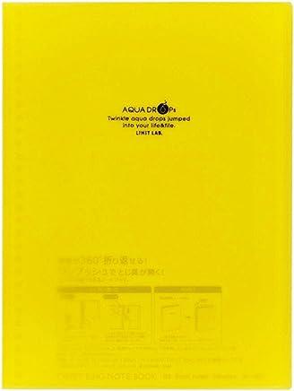 リヒトラブ ツイストノートブック N1620-5 セミB5 29穴 リーフ30枚 黄
