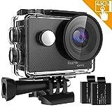 IXROAD Action Camera 4K Ultra HD WiFi Sport Cam Macchina Fotografica Subacquea 170 Gradi Grandangolo...