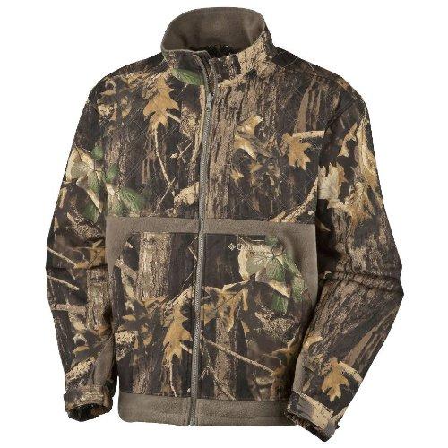 Columbia Men's Omni-Heat Full Brass Jacket,Timberwolf,Tierra,Large
