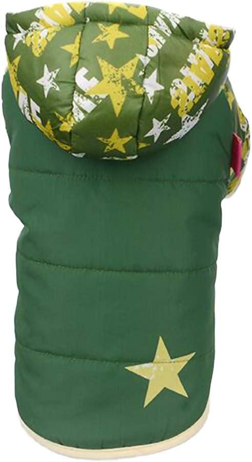 Balacoo Dog Coat Brand Cheap Sale Venue Stars Pattern Challenge the lowest price of Japan Pet Warm Vest Soft Hoodie