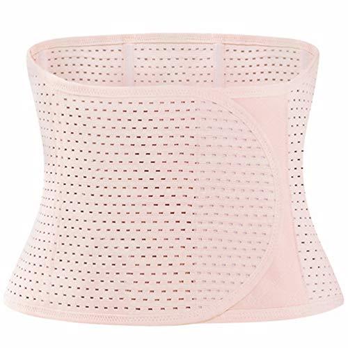 EXCEART Transpirable Ajustable Elástico Abdominal Binder Postnatal Belly Waist Slim Shaper Support Faja Cinturón Postnatal Embarazo Maternidad para Mujeres Postparto