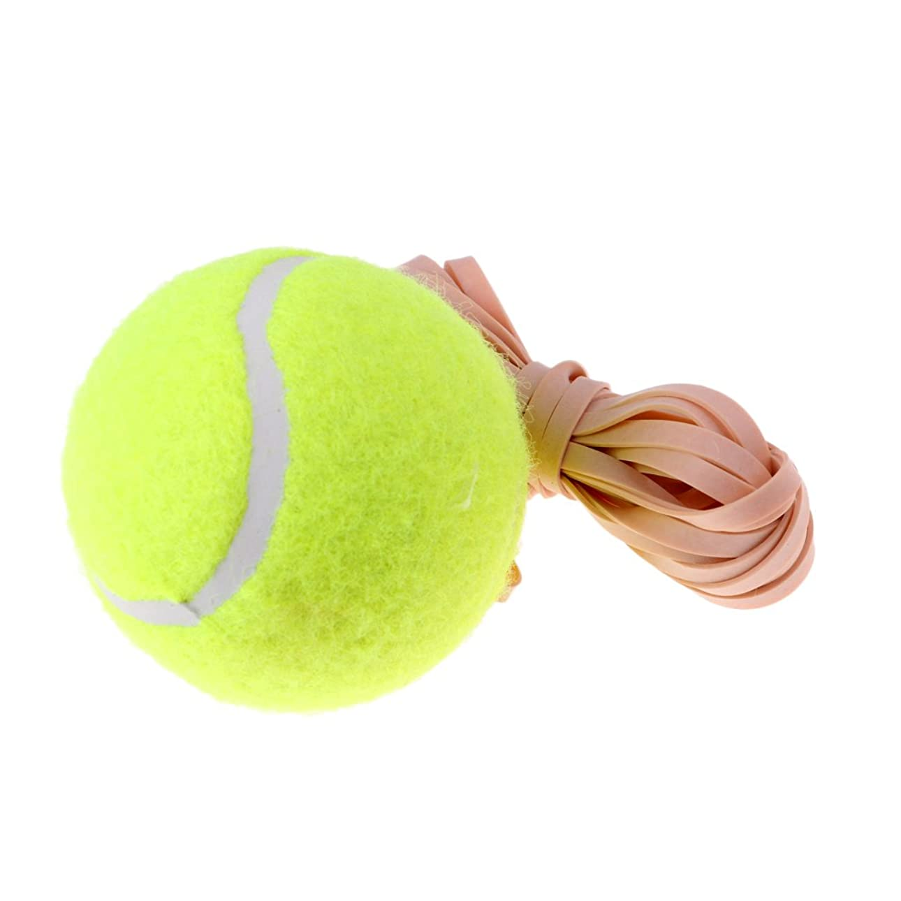 間に合わせ差別便利さprettyiaテニスボールwith String forテニストレーナー、リバウンドトレーナー交換用テニスボール独習Beginners