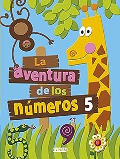 La aventura de los números 5 - 9788444176772