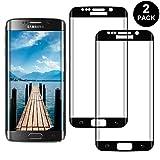 RIIMUHIR Samsung Galaxy S7 Edge Protector Pantalla, Cristal Templado para Samsung Galaxy S7 Edge Anti-arañazos, Anti-Huella Digital, Sin Burbujas, 2 Unidades
