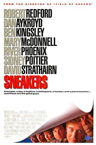 SNEAKERS (1992) Original Authentic Movie Poster - 27x41 One Sheet - Double-Sided - FOLDED - Robert Redford - Sidney Poitier - Dan Aykoyd - David Strathairn