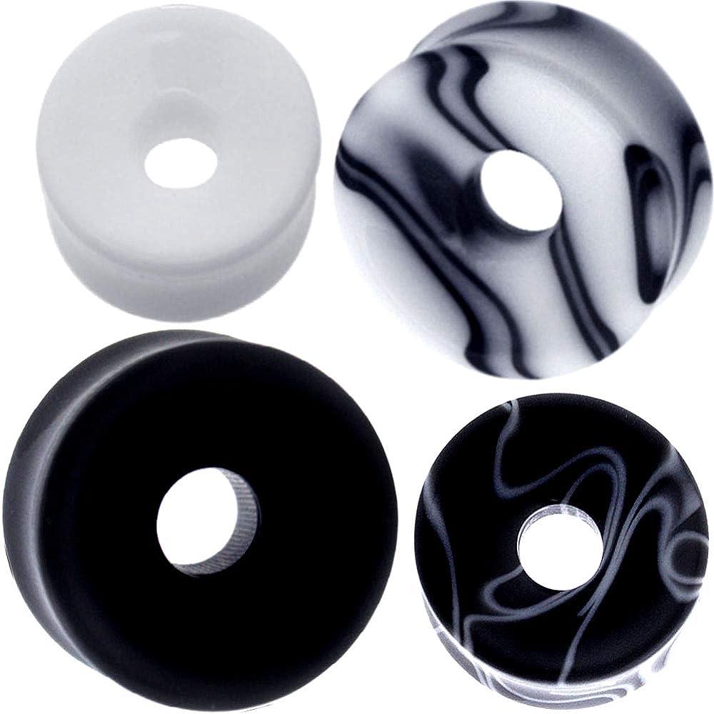 Ear Gauge gauges Ears Plug Flesh Cheap sale Flare Earring 10m Finally resale start Tunnel Double