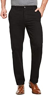JustSun Chino Trousers for Men Casual Chinos Regular Fit Smart Pants