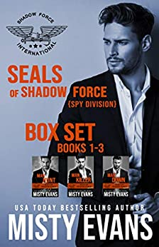 SEALs of Shadow Force: Spy Division Box Set: Books 1 - 3 by [Misty Evans]