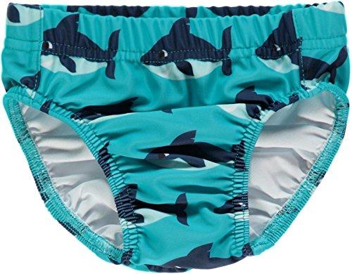 Maxomorra Baby Jungen Badehose Blau (Haifisch) UV-Schutz UPF50