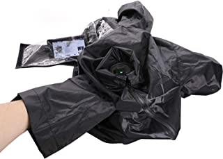CamRebel Cold Proof Rain Cover Sleeve for Selected Camcorders (M, Black)