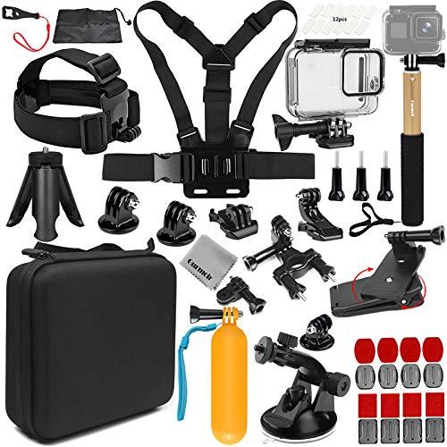 Gurmoir - Kit de accesorios para cámara de acción GoPro Hero 8