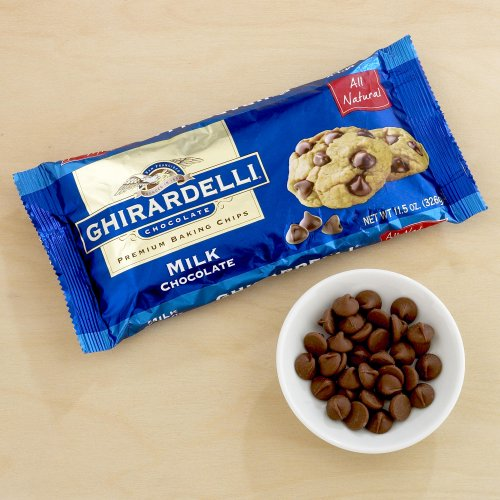 Ghirardelli Milk Chocolate Baking Chips 11.5 oz. (Pack of 3)