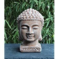 Garden ornament Buddha small Terracotta