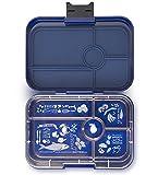 Yumbox Tapas XL Bentobox für Erwachsene & Teenager (Portofino Blue, 5er Bon Appetit) - Lunchbox mit...