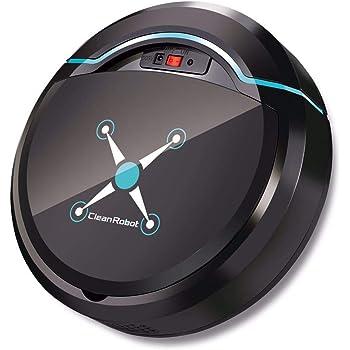UKIA Robot Aspirador,Robot de Limpieza de Pisos,aspira y friega, con sensores anticaída, bateria ión-Litio de 150 Minutos de autonomía: Amazon.es: Hogar